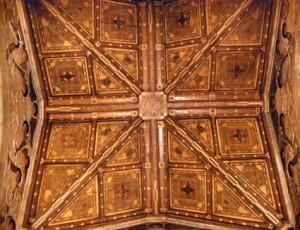 Badalquí, artesonat interior