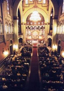 2002, misa del centenario