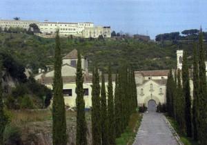 Entrada a la Cartoixa de Montalegre
