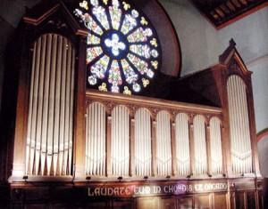 façana de l'orgue